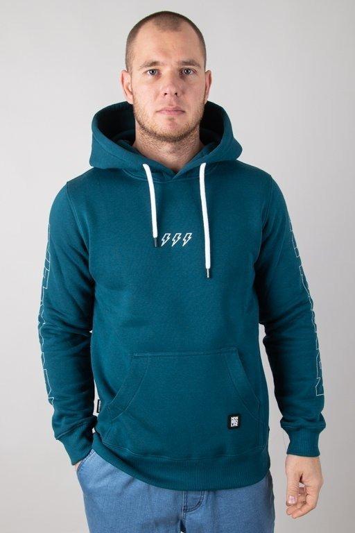 Bluza New Bad Line Hoodie Sleeve Emerald