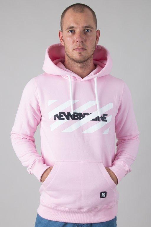 Bluza New Bad Line Hoodie Stripes Pink
