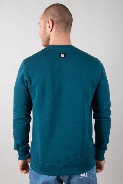 Bluza New Bad Line Sleeve Emerald
