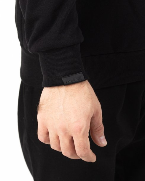 Bluza Patriotic Tag Box Black-Grey