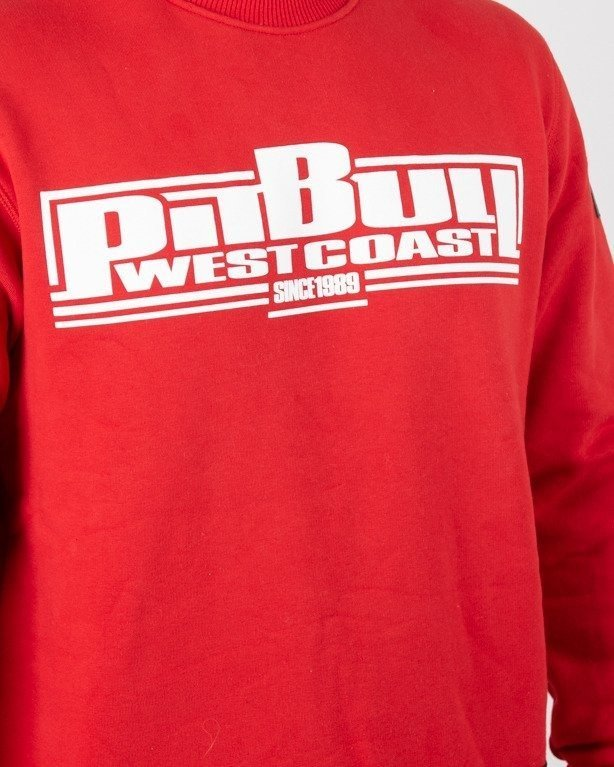 Bluza Pitbull Boxing Red
