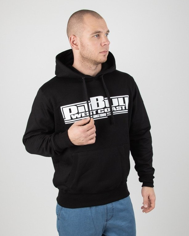 Bluza Pitbull Hoodie Classic Boxing Black