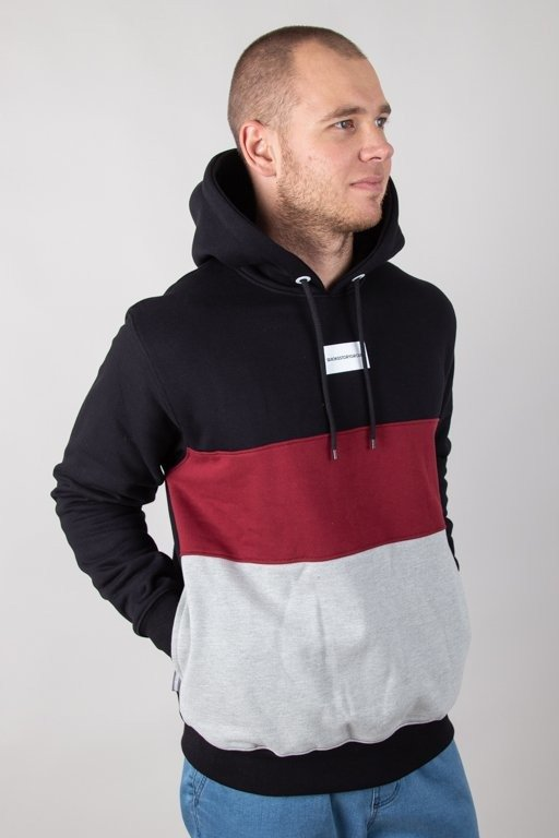 Bluza SSG Hoodie Three Colors Black-Brick