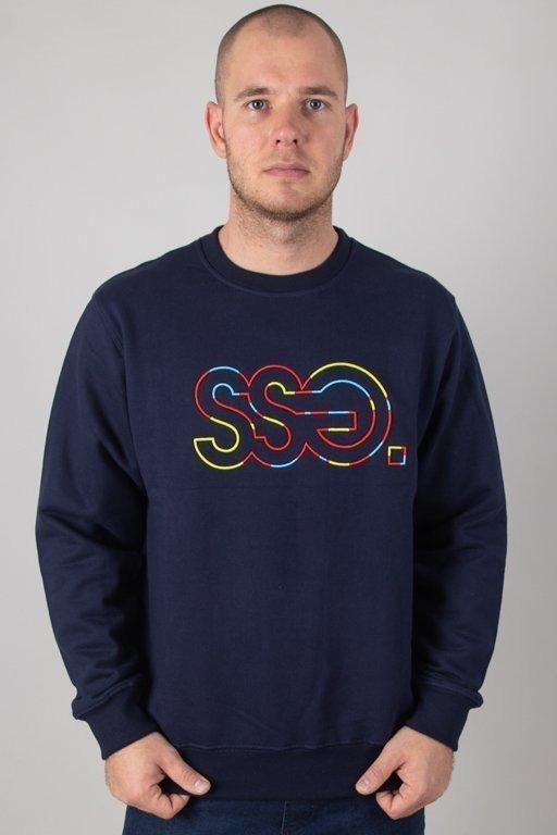 Bluza SSG Outline Colors Navy