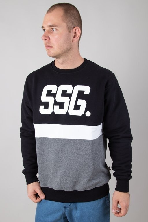 Bluza SSG Triple Line Black-Melange