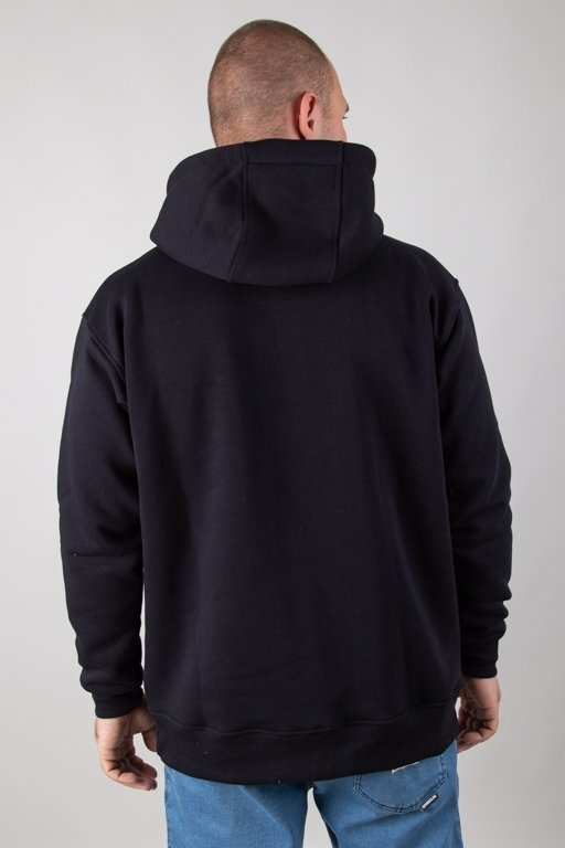Bluza Stoprocent Hoodie Cube Black