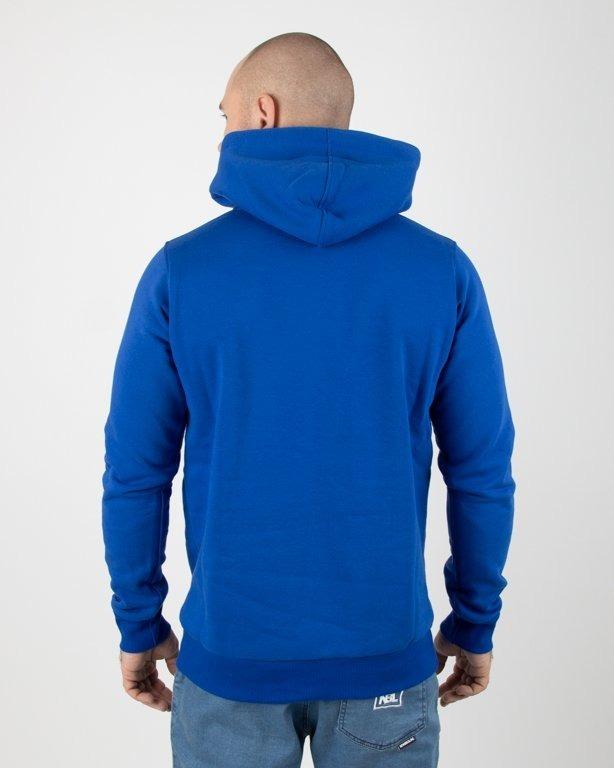 Bluza Stoprocent Hoodie Slimtag Blue