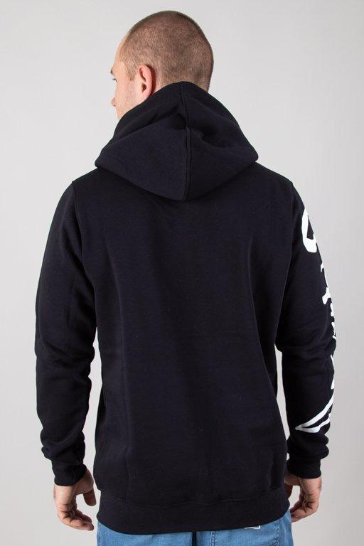Bluza Stoprocent Hoodie Tagsleeve Black