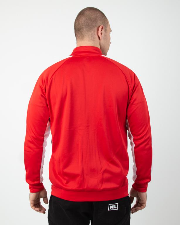Bluza Zip Ganja Mafia Classic Stripes Red