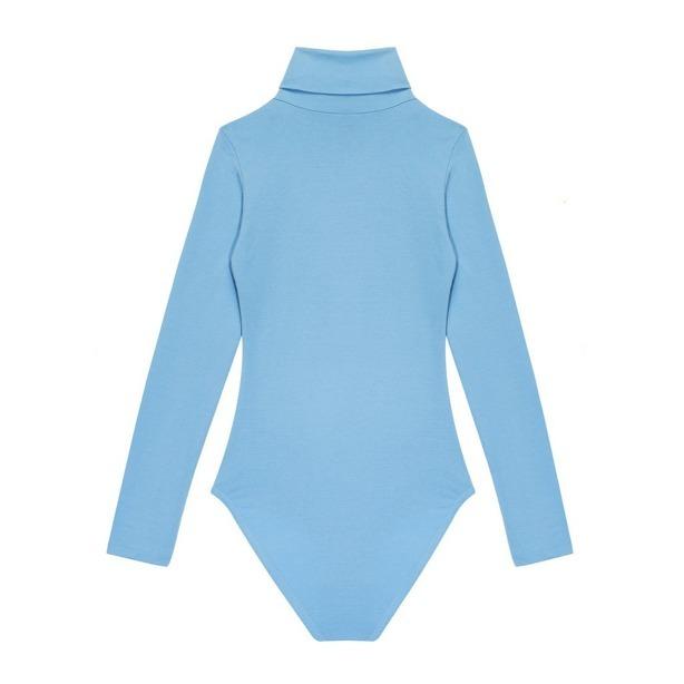 Body Prosto Woman Gooseflesh Blue