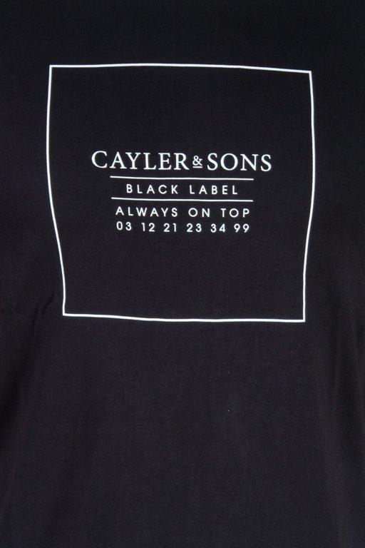 Cayler&Sons Koszulka T-Shirt Always On Top Black