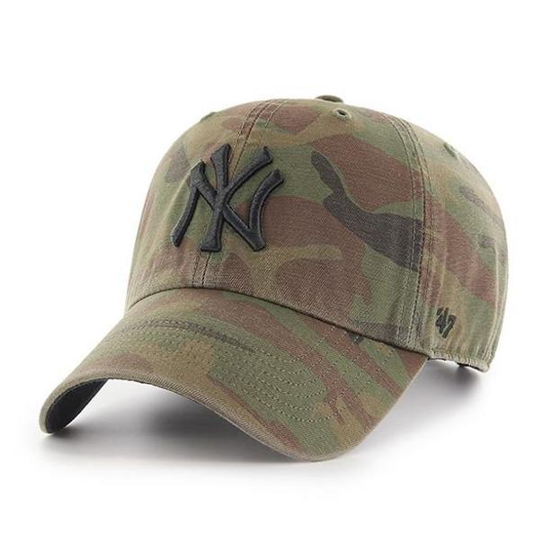 Czapka 47 Brand New York Yankees Clean Up Camo
