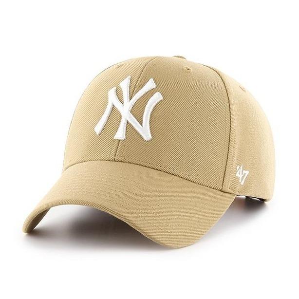 Czapka 47 Brand Ny Yankees Beige-White