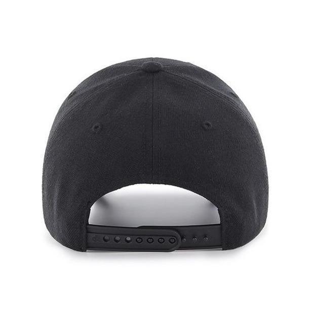 Czapka 47 Brand Snapback New York Yankees Black-Black