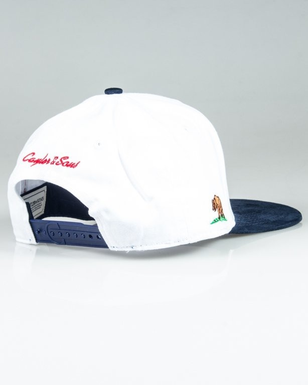 Czapka Cayler & Sons Plated White-Navy