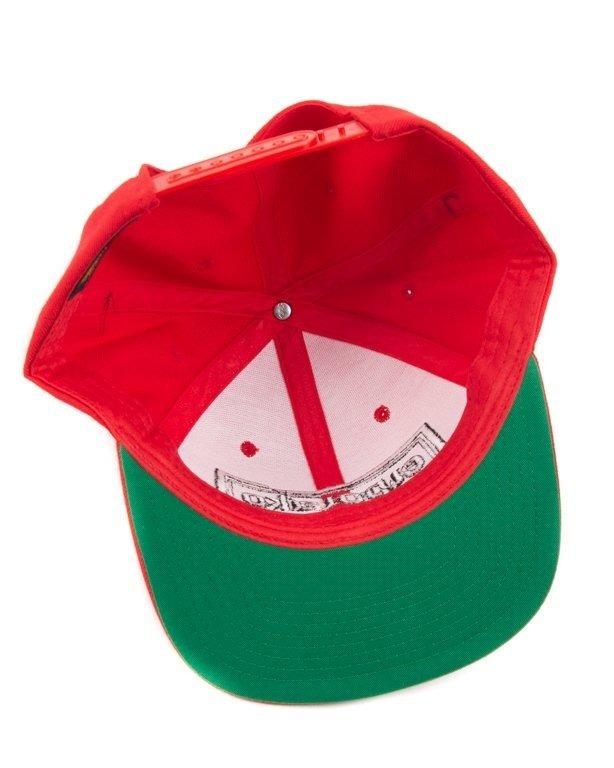 Czapka El Polako Snapback Cut Colors Red