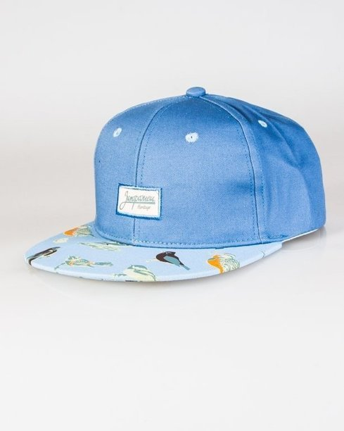 Czapka True Spin Snapback  Birds Blue