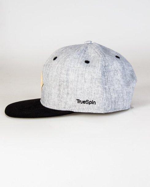 Czapka True Spin Snapback Logo Skiin Jeans Grey