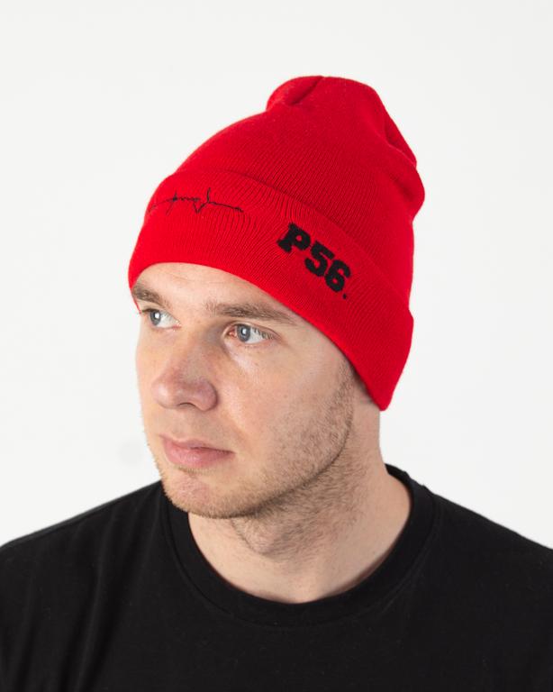 Czapka Zimowa Dudek P56 Tętno Red