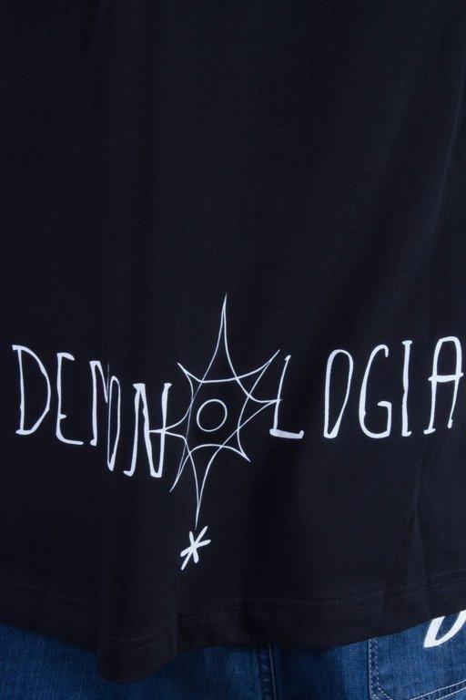 DEMONOLOGIA KOSZULKA KAPELUSZNIK BLACK