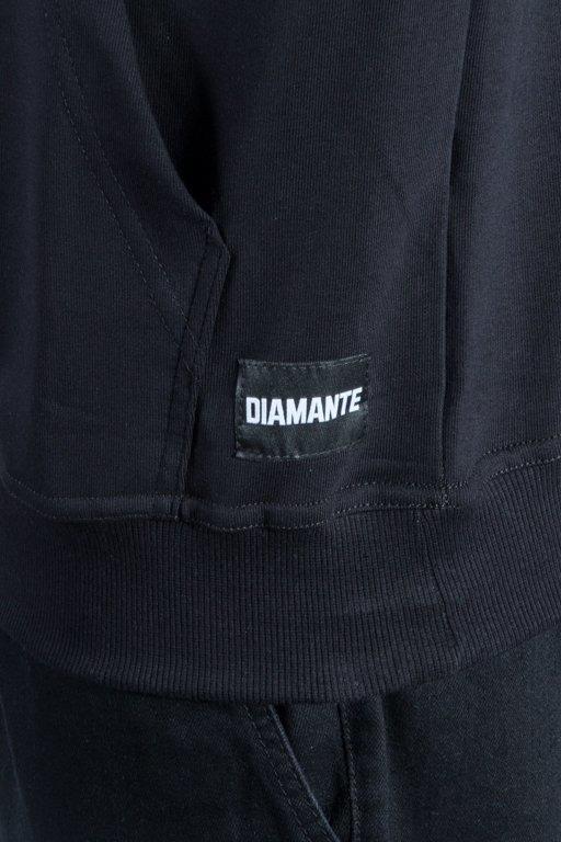 DIAMANTE WEAR HOODIE DIAM BLACK-MINT