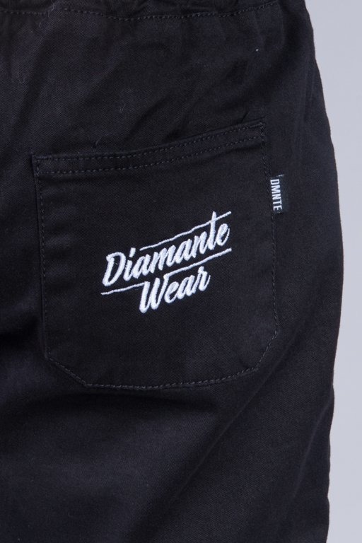 DIAMANTE WEAR SPODNIE CHINO JOGGER CLASSIC 2 BLACK