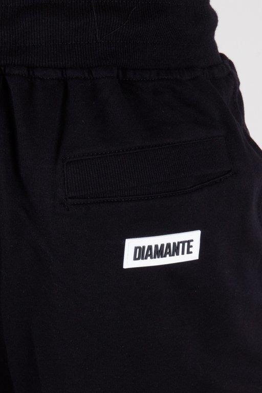 DIAMANTE WEAR SWEATSHORTS WYJ38ANE BLACK