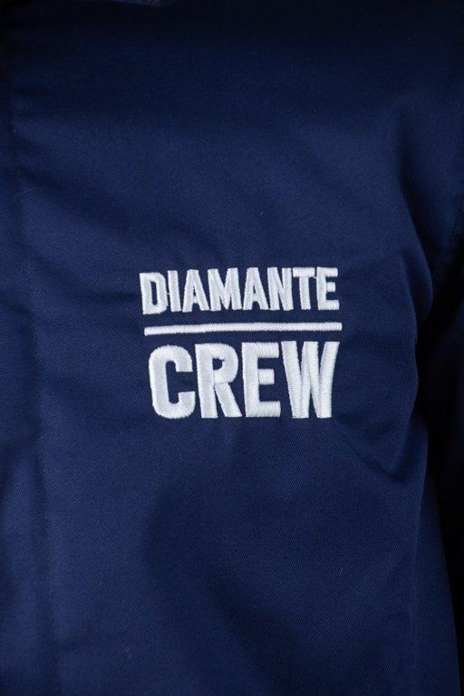 DIAMANTE WEAR WINTER JACKET DIAMANTE CREW NAVY