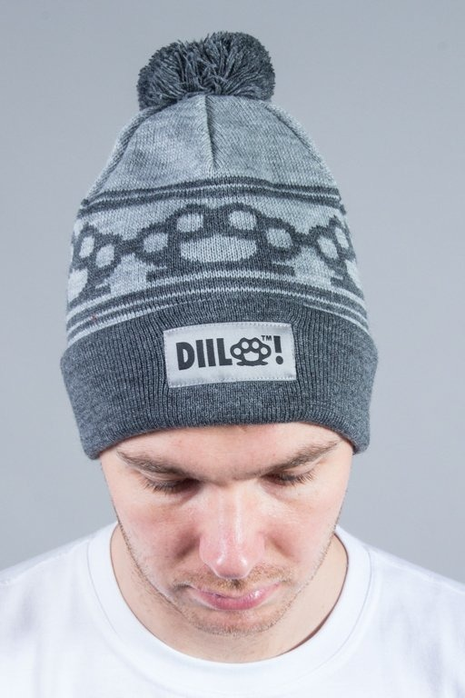 DIIL WINTER CAP KNUCKLES GREY