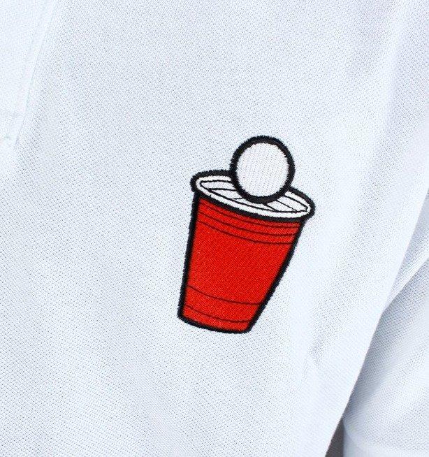 ECKO KOSZULKA POLO RED CUP WHITE