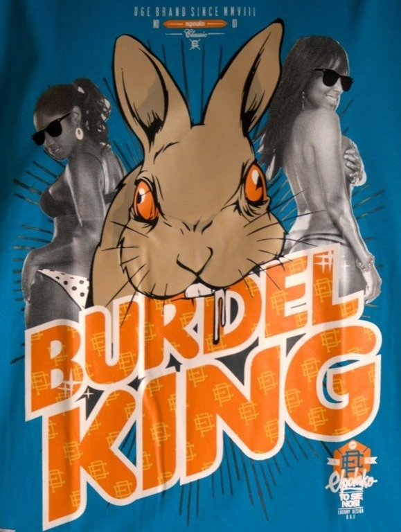 EL POALKO KOSZULKA BURDEL KING BLUE