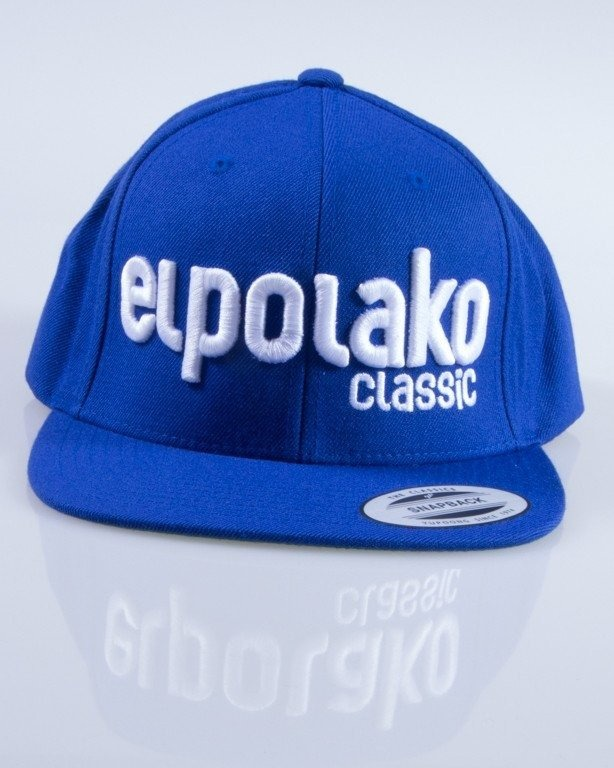 EL POLAKO CZAPKA SNAPBACK CLASSIC BLUE