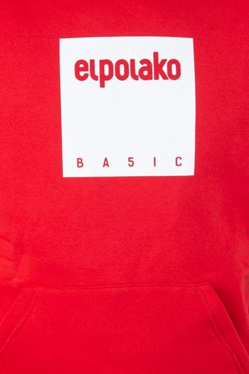 EL POLAKO HOODIE BOX STYLE RED