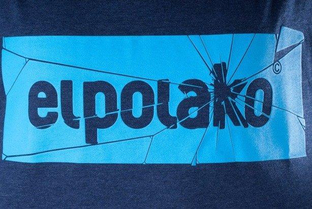 EL POLAKO KOSZULKA GLASS NAVY BLUE