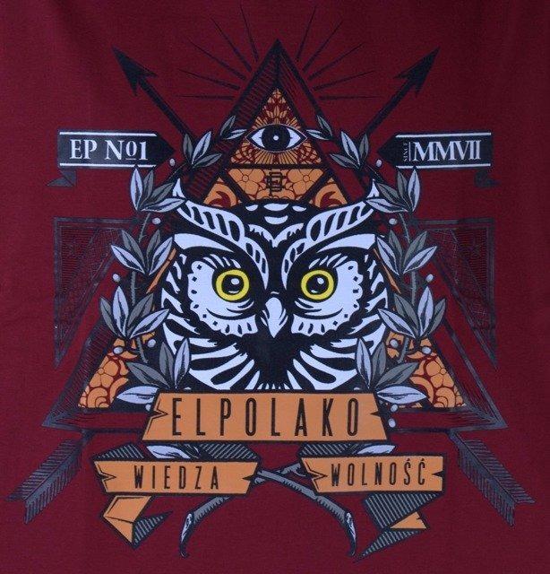 EL POLAKO KOSZULKA OWL RED