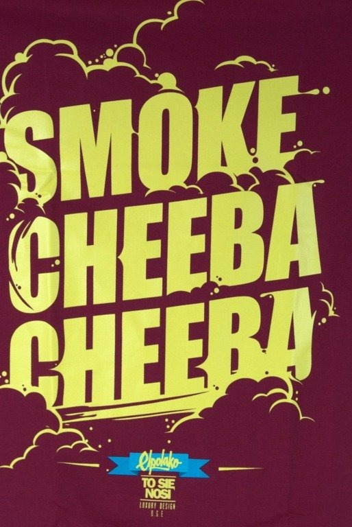 EL POLAKO KOSZULKA SMOKE CHEEBA CHEEBA RED