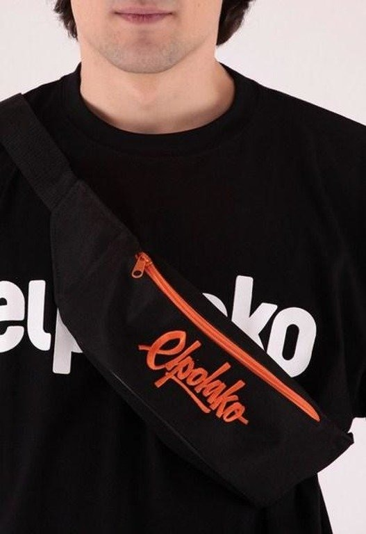 EL POLAKO SASZETKA NERKA LOGO SIMPLE BLACK