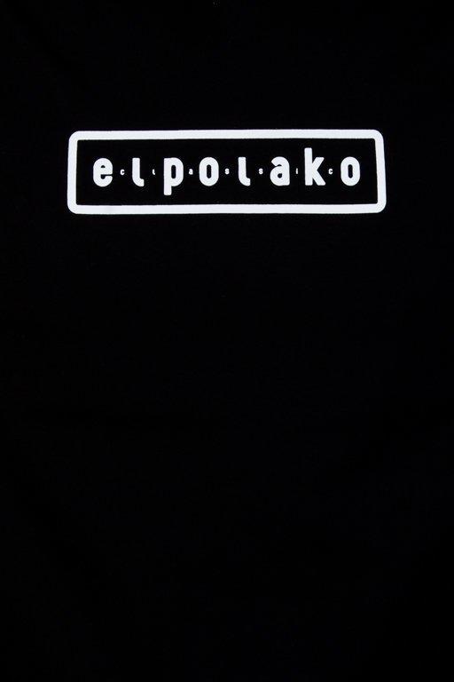 EL POLAKO T-SHIRT EL POLAKO MOUNTAIN BLACK