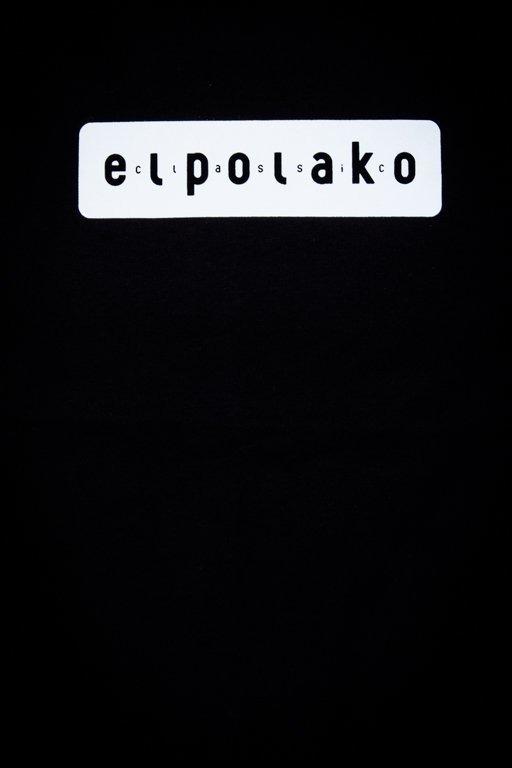 EL POLAKO T-SHIRT EL POLAKO SLEEVE BLACK