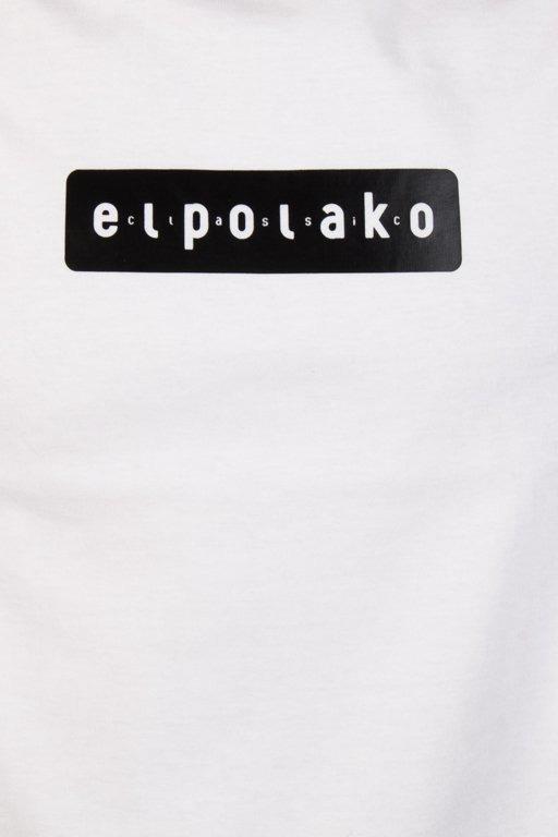 EL POLAKO T-SHIRT EL POLAKO SLEEVE WHITE