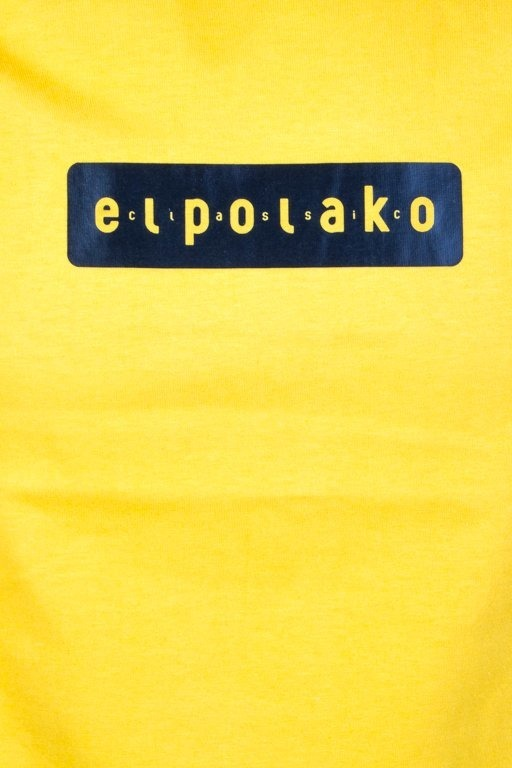 EL POLAKO T-SHIRT EL POLAKO SLEEVE YELLOW