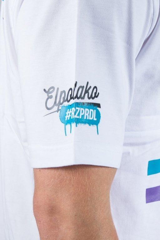 EL POLAKO T-SHIRT NUMBER WHITE