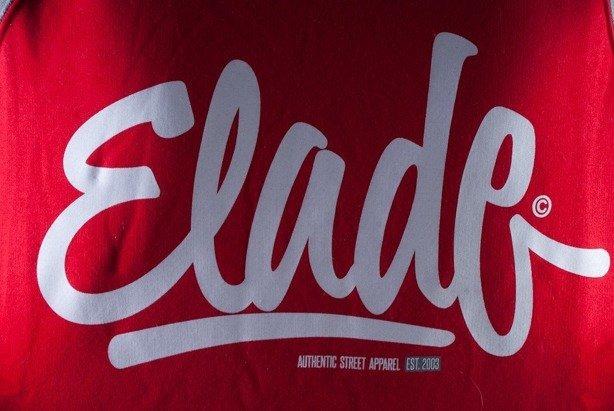 ELADE BLUZA Z KAPTUREM DOUBLE CLIDE RED