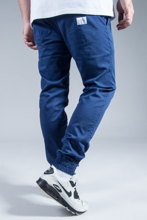 ELADE PANTS CHINO JOGGER BLUE