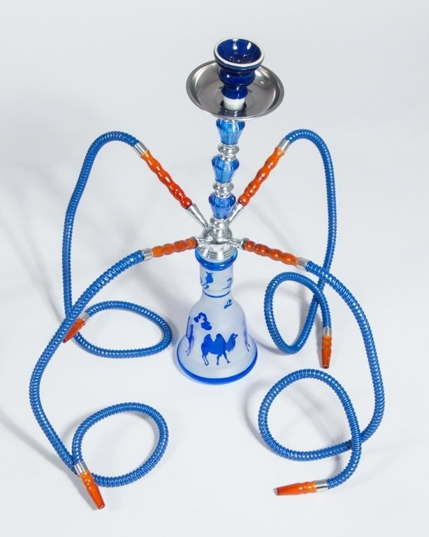 Fajka Shisha Big Camel Blue