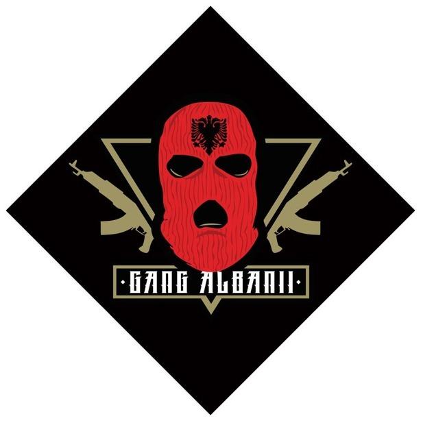 Gang Albanii Bandana Black