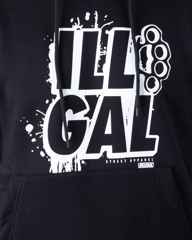 ILLEGAL HOODIE ILL GALL BLACK