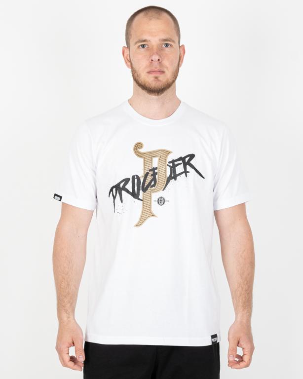 Koszulka Chada Proceder Gold Pe White