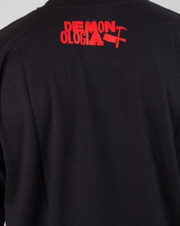 Koszulka Demonologia Niech Płoną Black