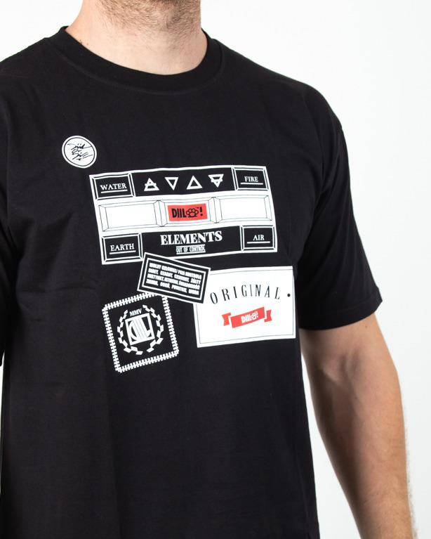 Koszulka Diil Art Black